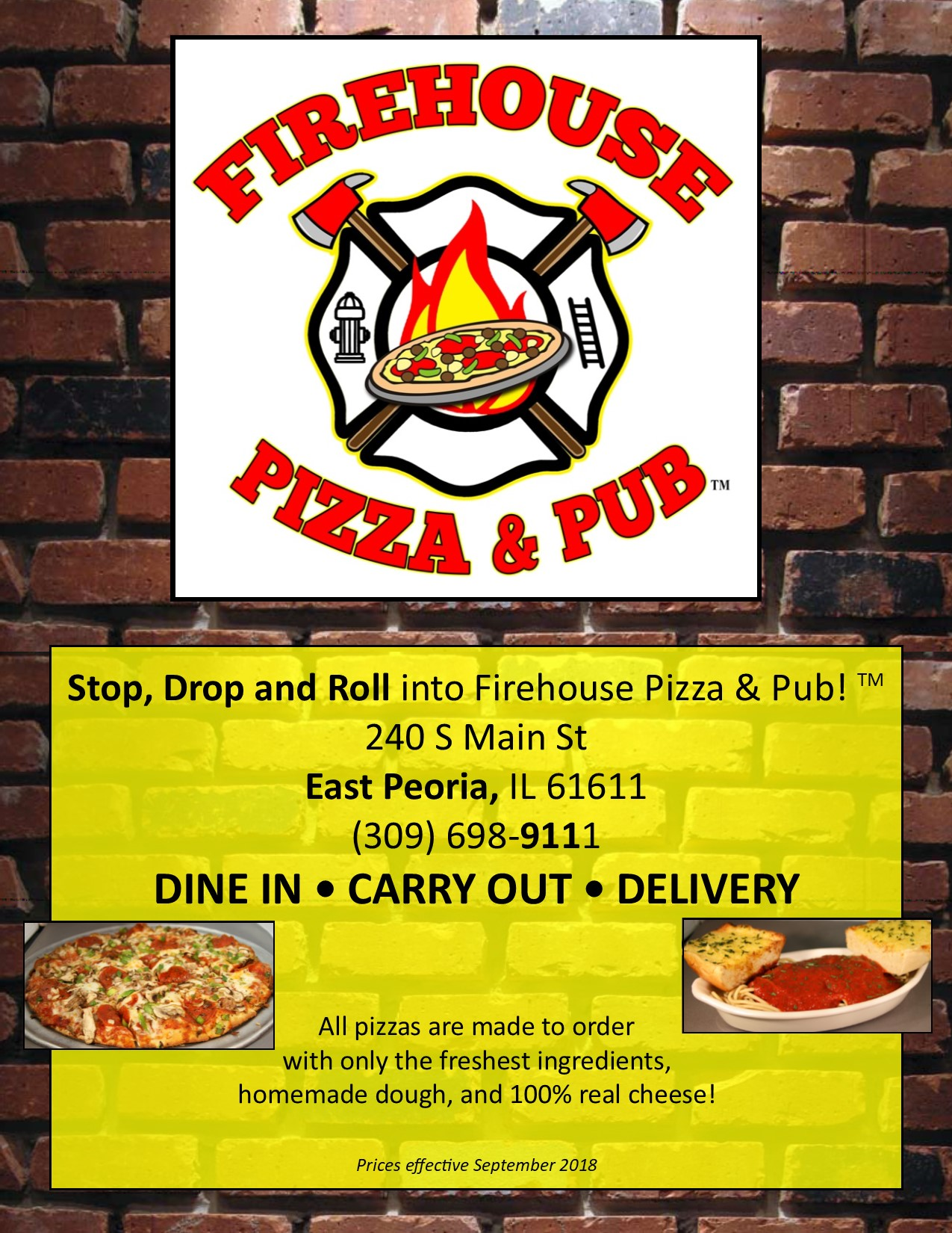 picture about Firehouse Subs Printable Menu titled Our Menu Transport, Deliver Out or Dine Inside of.